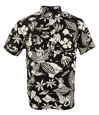 Polo Ralph Lauren Men s Linen Silk Tropical Graphic Shirt-B W-M ... bbd241c208d6