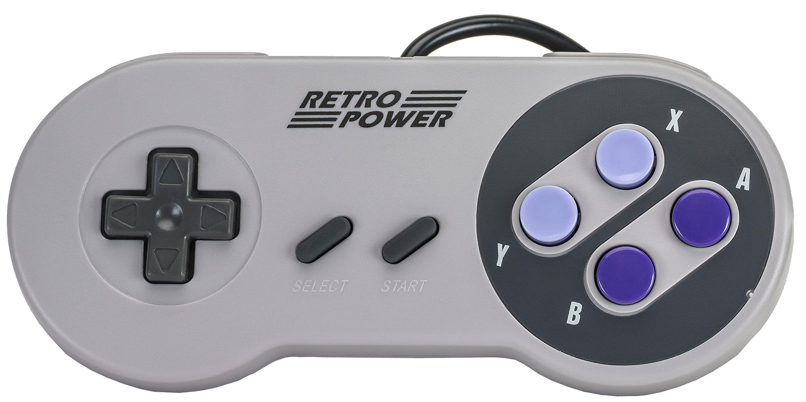 New 2019: 5 USB Classic Controllers - Nintendo (NES), Super Nintendo