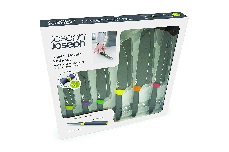 Joseph Joseph Elevate Knives, 6-Piece Set - Multi-Colour: Amazon.co ...