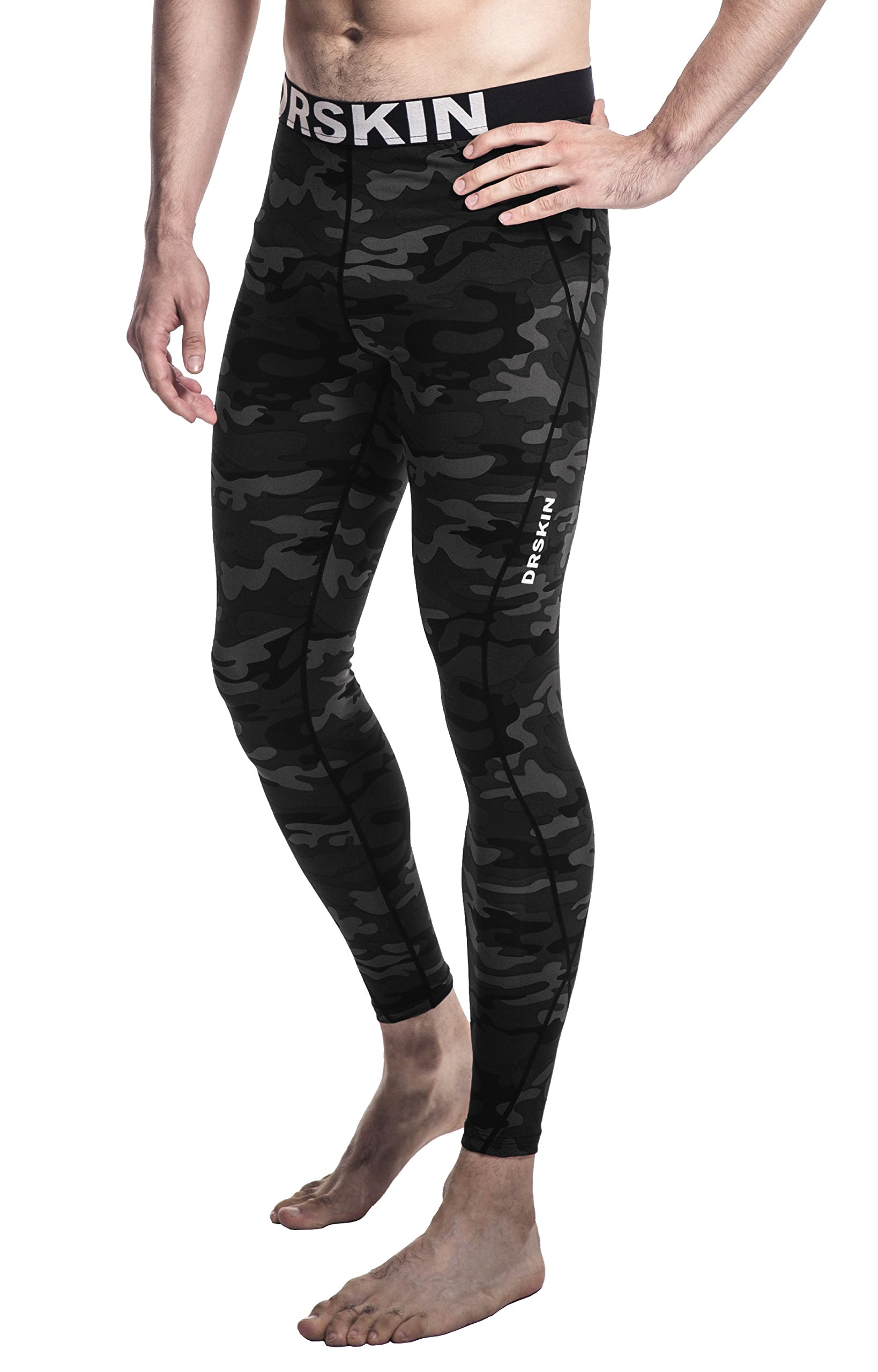 [DRSKIN] Compression Tight Pants or Shirts Base