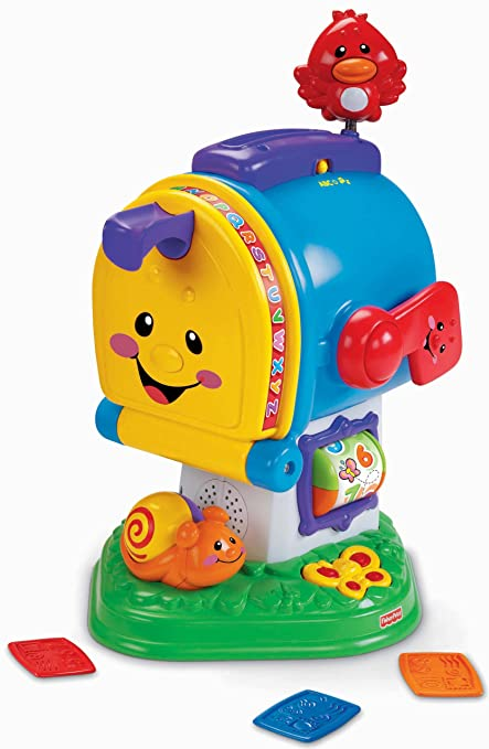 fisher price laugh learning letters mailbox