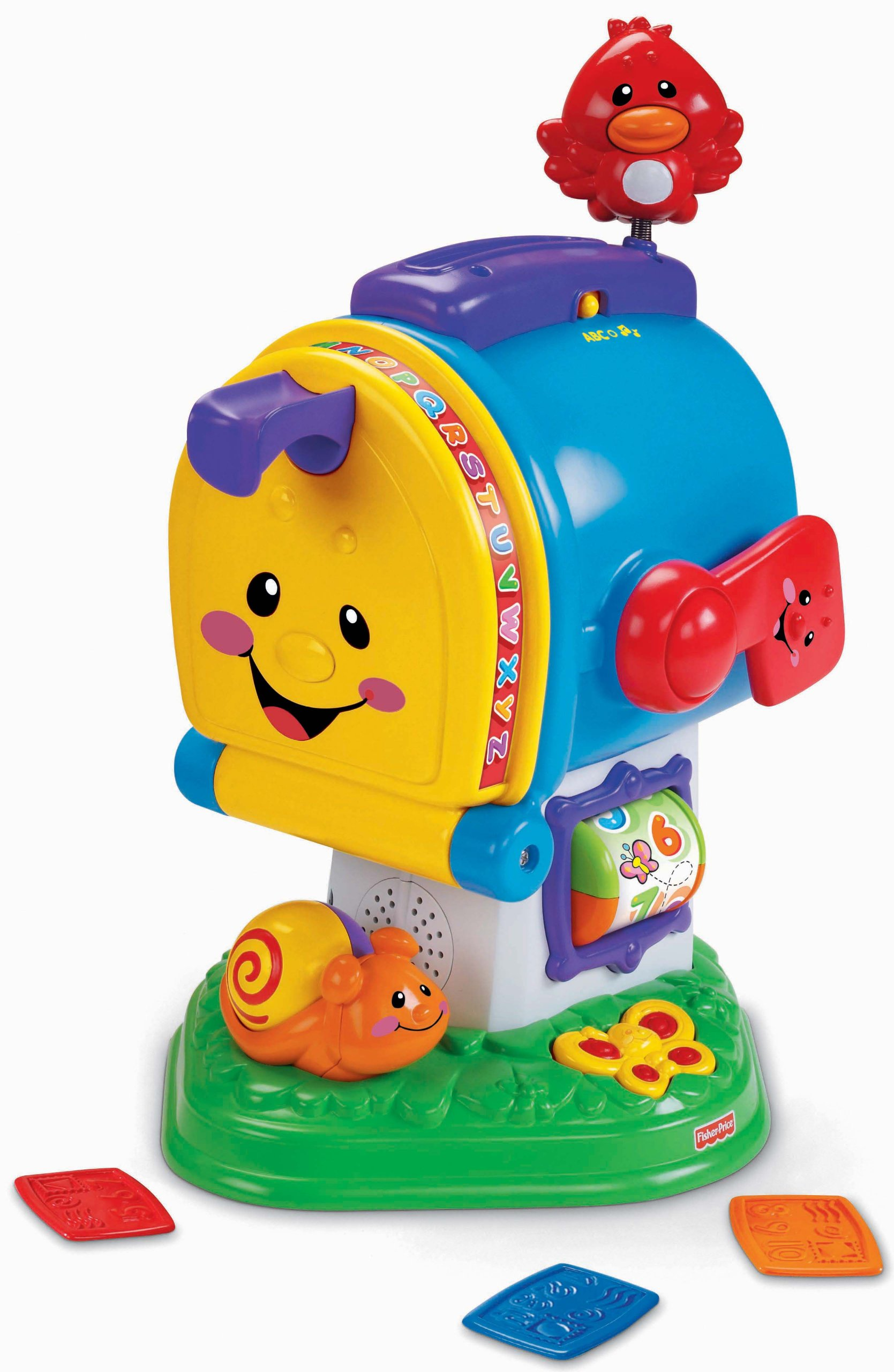 Fisher-Price Laugh & Learning Letters Mailbox by Fisher-Price (Image #1)