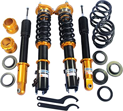 JDMSPEED New Full Coilover Non Adjust Damper Coil Spring Struts Kit Replacement For Honda Civic 2006-2011