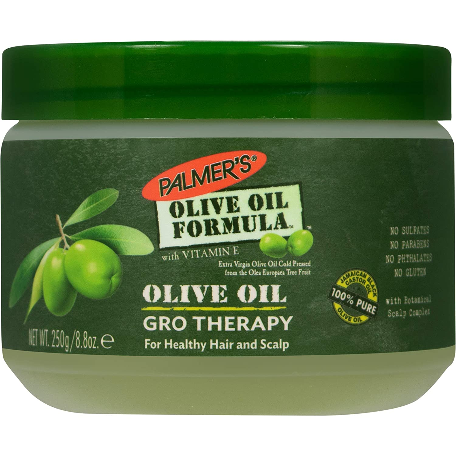Palmer's Olive Oil Formula Gro Therapy for Healthy Hair and Scalp, 8.8 oz