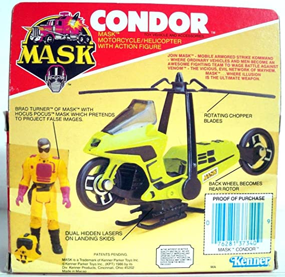 Kenner Condor Mobile Armored Strike Kommand MASK M.A.S.K.