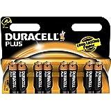 """DURACELL pack promo de 8 Piles alcalines """"PLUS POWER"""", Mignon AA"""