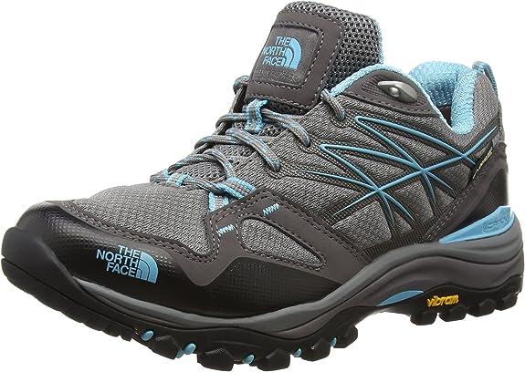 North Face W Hedgehog Fastpack GTX (EU), Mujer Zapatillas de senderismo, Mujer, Gris / Azul, 37: Amazon.es: Zapatos y complementos