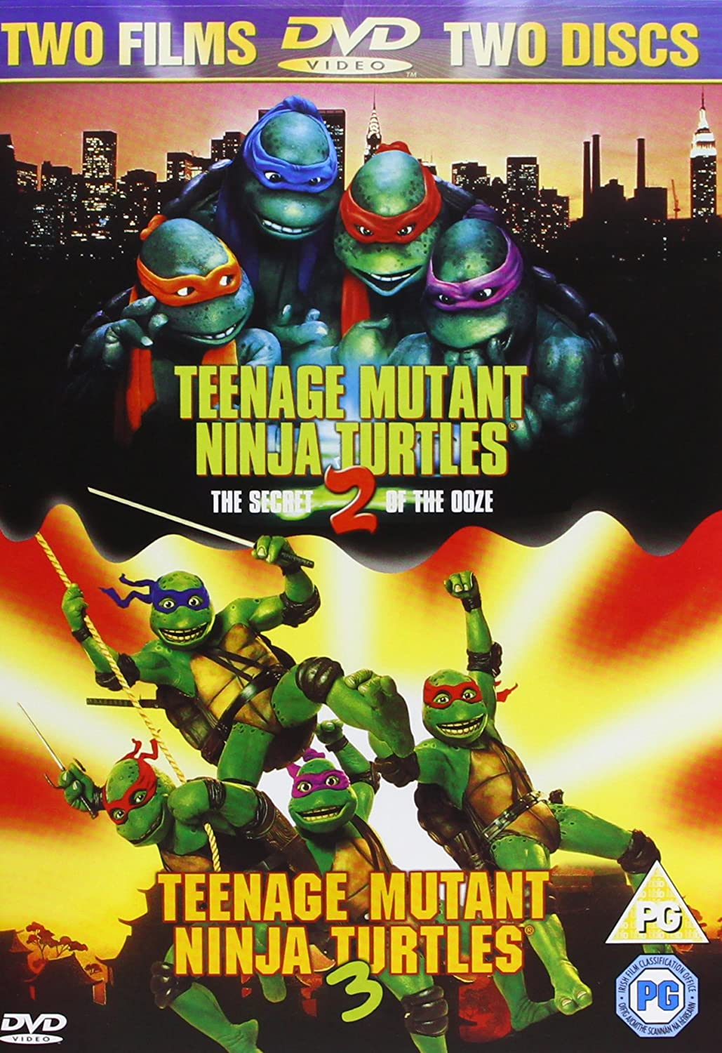 Amazon.com: Teenage Mutant Ninja Turtles 2/Teenage Mutant ...