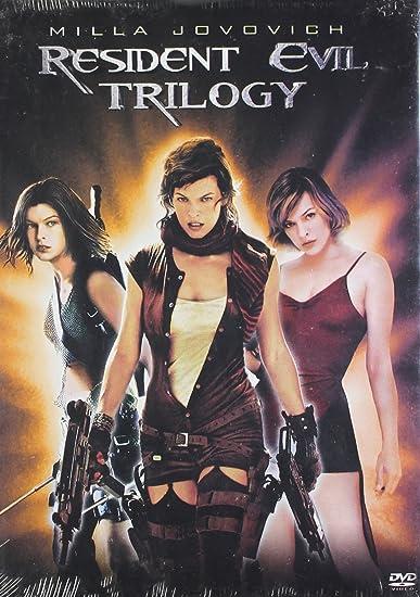 Resident Evil Trilogy Pack Amazon In Milla Jovovich Milla