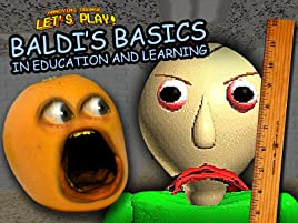 Amazon com: Watch Clip: Annoying Orange Let's Play Baldi's