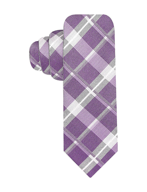 Alfani Mens Stevie Reversible Skinny Tie Necktie