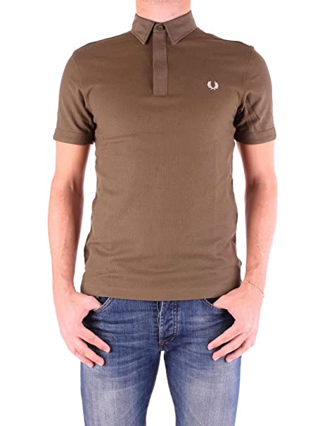 Fred Perry Luxury Fashion Hombre M3563BROWN Marrón Polo ...