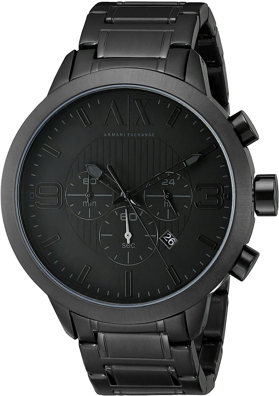 AX ARMANI EXCHANGE Men's AX1277 Black Watch