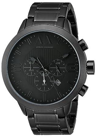4ff92e593919 reloj armani negro
