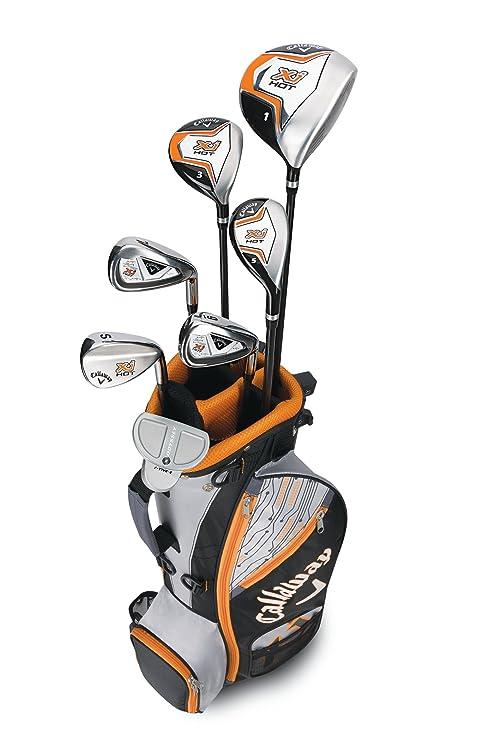 Calaway XJ Hot D Equipo de Golf, Niños, Negro/Naranja, 9-12 ...