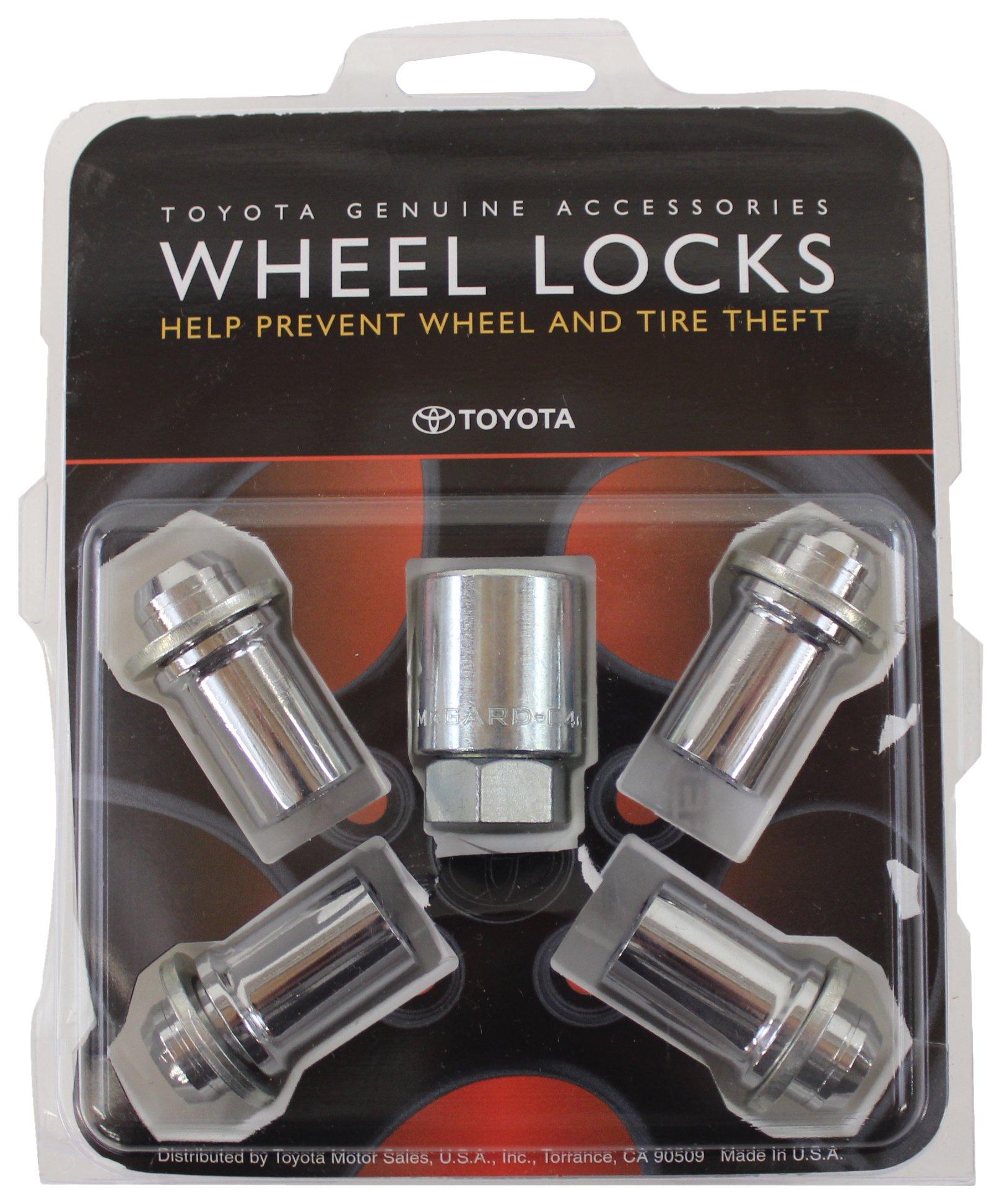TOYOTA Genuine Accessories 00276-00901 Wheel Lock by TOYOTA