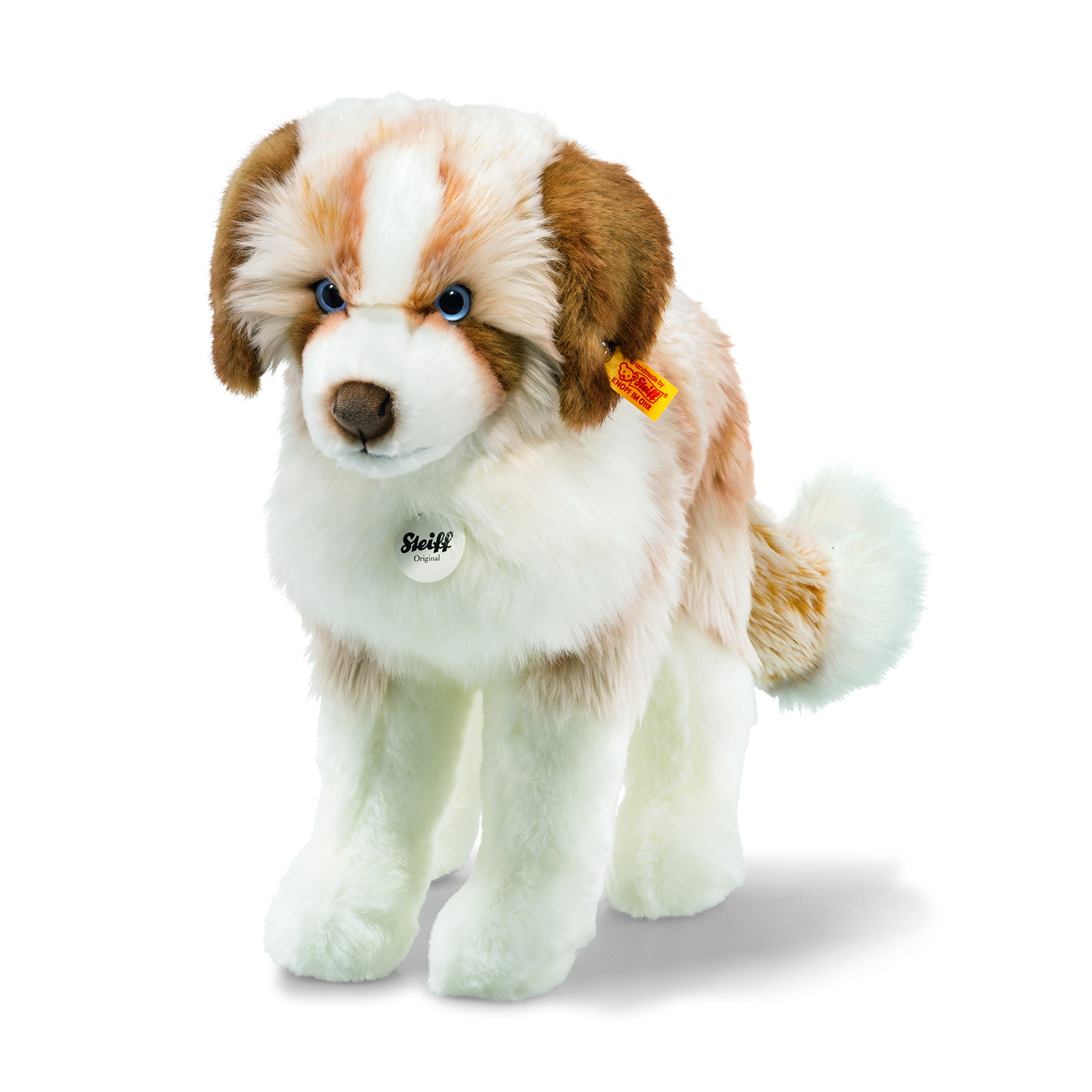 Steiff Cookie Dog Toy, Brown/White by Steiff