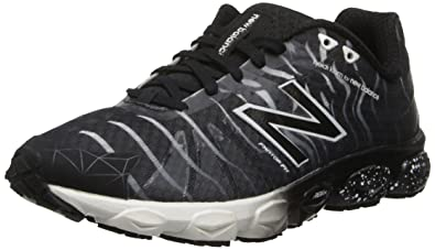 New Balance Women's W890 HKNB Footwear Collection Running Shoe,Black,5