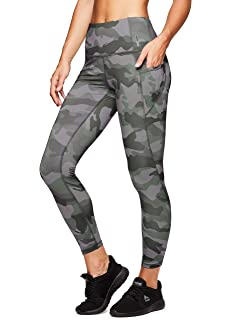 7c28a17f8a703 Amazon.com: RBX Active Women's Printed Running Workout Yoga Leggings ...