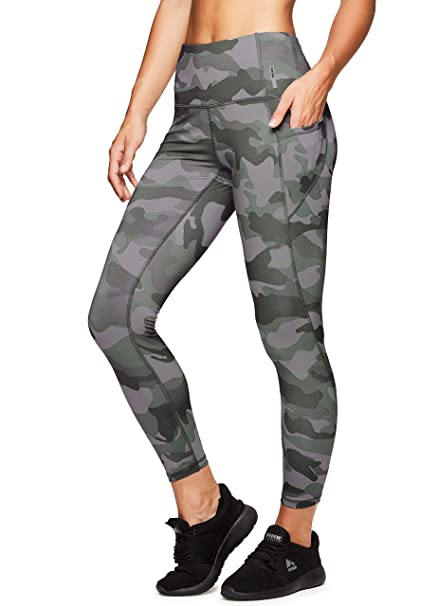 RBX Active Women's Camo Workout Yoga Leggings Leggings Women's Clothing