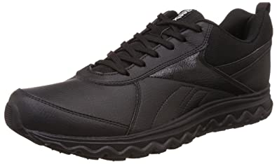 9d075501210 Reebok Men's School Sports Black Running Shoes - 10 UK/India (44.5 EU)