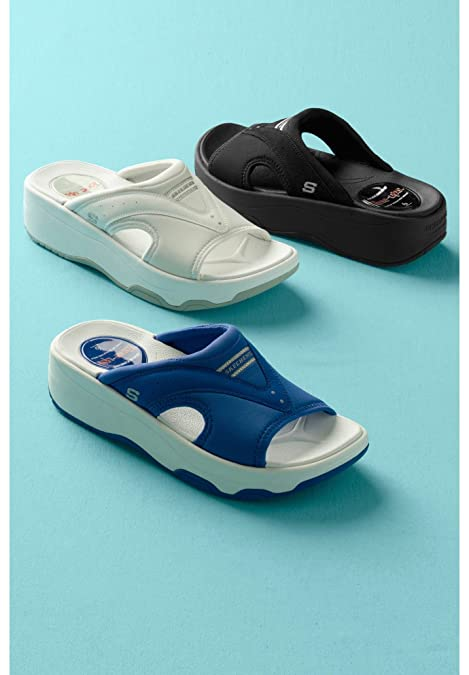 performance sportswear best website on wholesale Amazon.com: Skechers Tone ups Electric Slide Womens Sandals ...