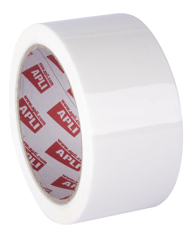 APLI Kids Weiss–Confezione di 36rotoli di K60, 48mm x 66m, 25micron, colore: bianco 11702 10004714