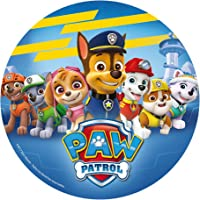 DEKORA Disco azucar Patrulla Canina Paw Patrol 20cm