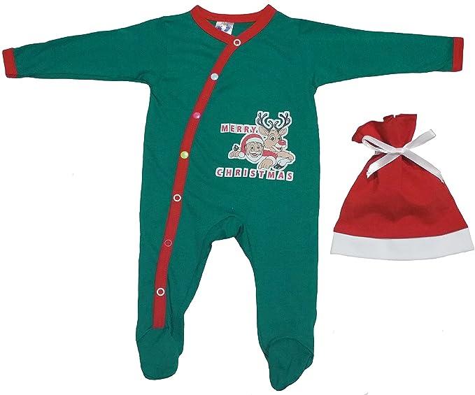 Amazon.com: Bebé Primera Outfit para Niños de Navidad con ...