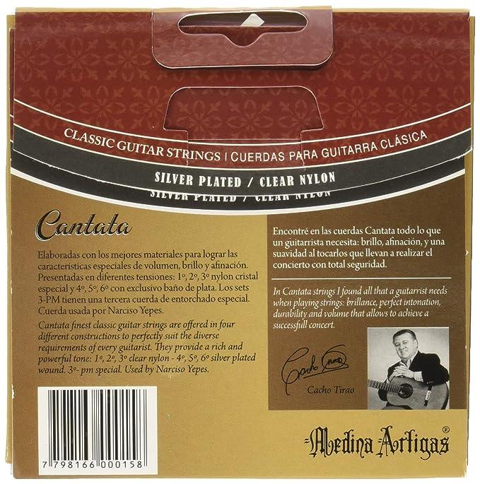 Amazon.com: Medina Artigas Classical Guitar String 640 – 3pm : Musical Instruments