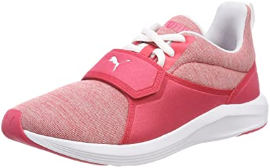buy popular edb8a bd091 Puma Prodigy Wn s, Chaussures de Cross Femme, Rose (Paradise Pink White),