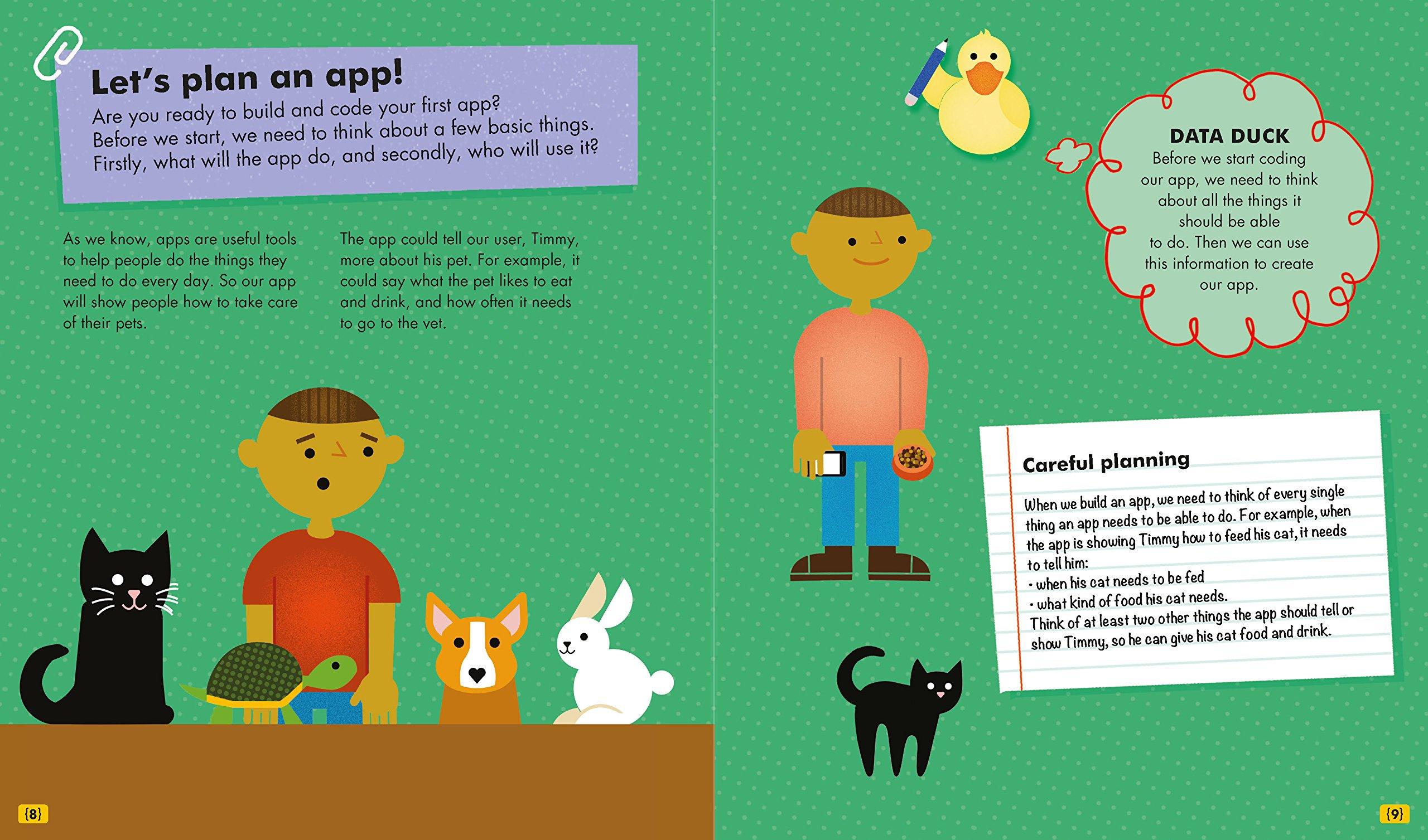 Develop Helpful Apps (Kids Get Coding): Amazon co uk