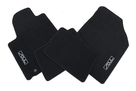 Carpet Floor Mats >> Genuine Kia Accessories 2kf14 Ac000wk Black Carpet Floor Mat For Select Soul Models