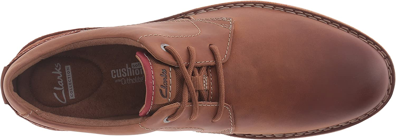 Clarks Chaussure Plate Edgewick pour Homme, 48 EUR, Tan