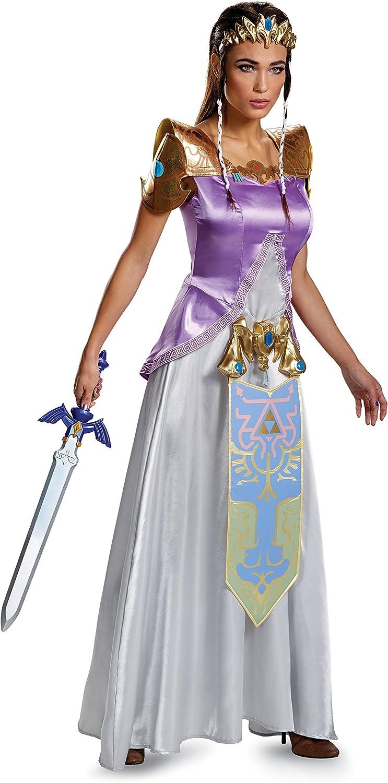 Adult Zelda Deluxe Fancy dress costume Small: Amazon.es: Juguetes ...