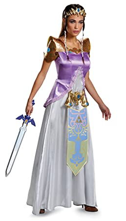 Legend of Zelda Princess Zelda Deluxe Costume Adult Small 4,6