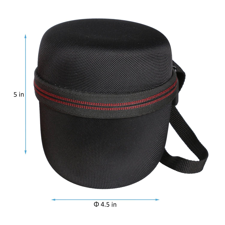 LTGEM EVA Hard Case Travel Protective Carrying Storage Bag for Ultimate Ears WONDERBOOM Super Portable Waterproof Bluetooth Speaker