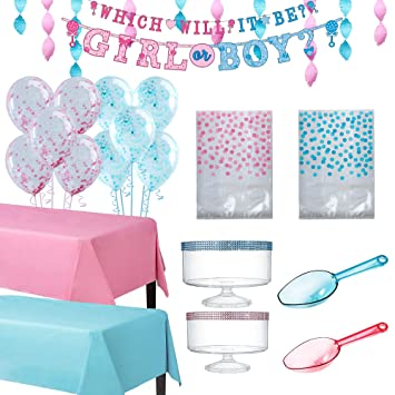 Amazon.com Party City Gender Reveal Party Treat Table