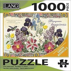 LANG Garden Botanicals 1000 Piece Jigsaw Puzzle