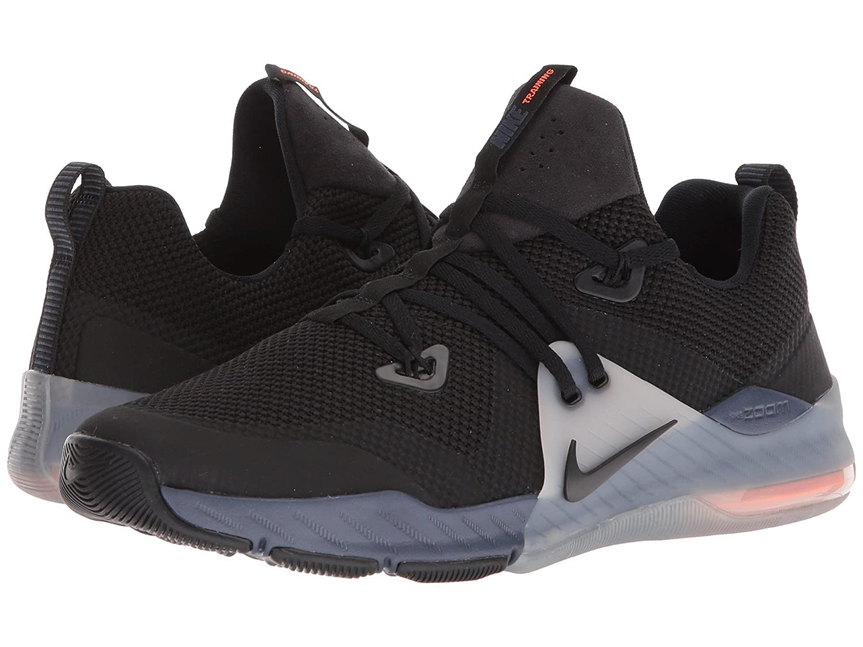 (ナイキ) NIKE メンズランニングシューズスニーカー靴 Zoom Command Black/Black/Thunder Blue/Vast Grey 10.5 (28.5cm) D - Medium B07CQD7Y5Y