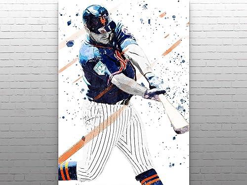 Baseball Gift Pete Alonso Poster Pete Alonso Print Gift Baseball Players Poster Pete Alonso Player Art Baseball Lover Gift Baseball Stars Art Pete Alonso Artwork