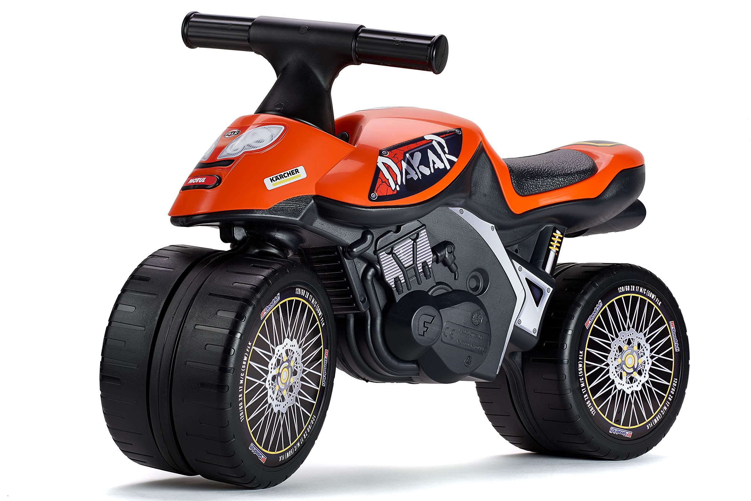 Falk Moto & Quads, 406D, Orange