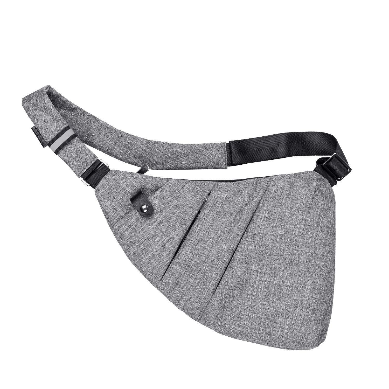 UtoteBag Brusttasche Sling Rucksack Schultertasche Crossbody Sling Bag Umh/ängetasche Rucksack Brusttasche Schlank Rucksack Multipurpose Daypack f/ür Damen und Herren