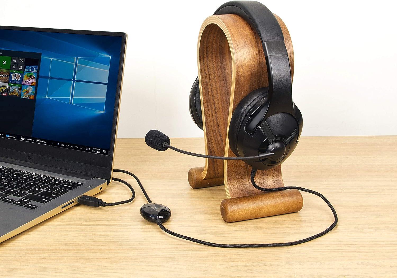 Auriculares de gaming para PC con micr/ófono Negro Basics
