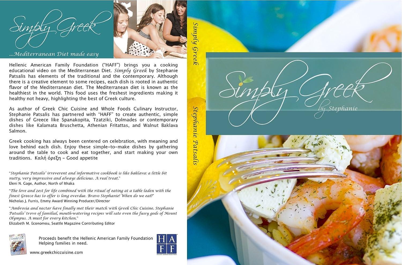 Amazon.com: Simply Greek Cooking By Stephanie: Stephanie Patsalis ...