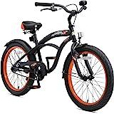 BIKESTAR Premium Sicherheits Kinderfahrrad 20 Zoll für Jungen ab 6-7 Jahre ★ 20er Kinderrad Cruiser ★ Fahrrad für Kinder