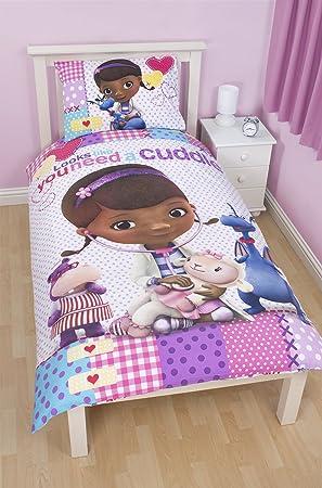 Disney Juego de cama, diseño de Doc McStuffins, multicolor
