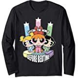 CN The Powerpuff Girls Saving The World Before Bedtime Long Sleeve T-Shirt