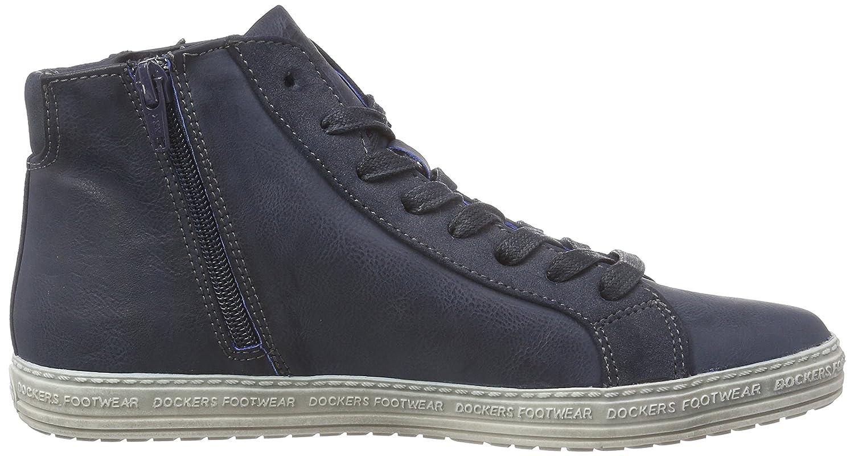 Dockers by Gerli Damen 27CH323-686100 Hohe Sneaker, Schwarz (Schwarz), 37 EU