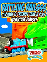 RATTLING RAILSSS THOMAS & FRIENDS Take-N-Play Adventure Playset [OV]